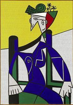 Roy Lichtenstein (1923-1997) Femme dans un Fauteuil, 1963