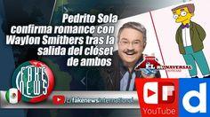Pedrito Sola confirma romance con Waylon Smithers tras la salida del cló...