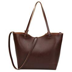 c155e0483 man fashion YGDB Women Handbag PU Leather Composite Tote Shoulder Crossbody  Bag Female Large Vintage Casual