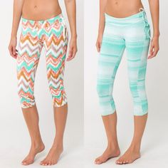 We're loving these surf leggings with oneil 365 activewear technology for (68.00) available in store at #4thandocean or order by phone at 407.878.6656! Also don't forget all workout gear is BUY ONE GET ONE HALF OFF! #workout #yoga #workoutgear #buyonegetonehalfoff #sale #oneil #surfleggings