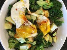 Veggie & Avocado Hash with Egg