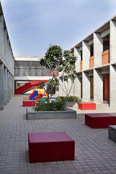 Khosla Associates - DPS Kindergarten school a Bengalore ©Shamanth Patil J.