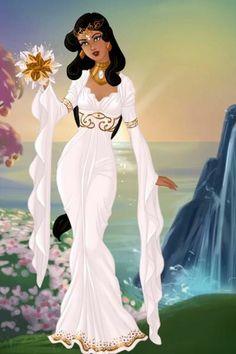 Disney doll by pigobest. Disney Jasmine, Princess Jasmine, Disney Princess Art, Disney Art, Aladdin Wedding, Anniversary Dress, Disney Dress Up, Doll Divine, Princesa Disney