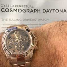 Treat yourself to some Chocolate!  The Rolex Cosmograph Daytona, back in stock!