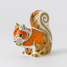 Royal Crown Derby, Squirrel paperweight