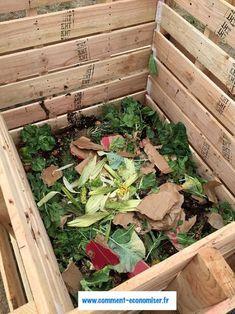 8 Excellent Pallet Garden Ideas For Your Backyard Garden Compost, Hydroponic Gardening, Organic Gardening, Compost Tea, Compost Bucket, Compost Tumbler, Wooden Compost Bin, Making A Compost Bin, Gardens