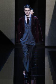 Giorgio Armani | Menswear - Autumn 2017 | Look 4