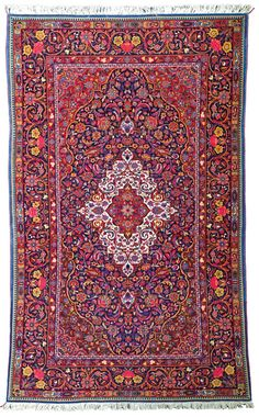 Keshan rug, Approximately 7ft. x 4ft. 3in. (213x130cm),rnPersia circa 1920