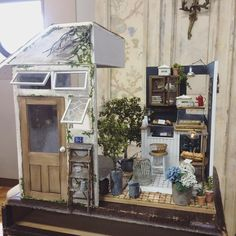 Miniature dollhouse ♡ ♡ In Noe Cafe