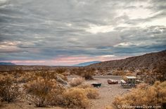 Sunset from Mesquite Springs Campground in Death Valley | ParksFolio by David Creech #DeathValley #NationalParks