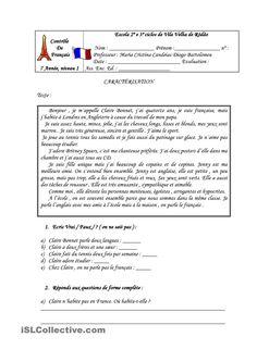 Contrôle de Français