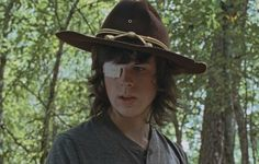 The Walking Dead Season 6 Episode 10 'The Next World' Carl Grimes