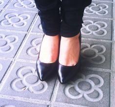 zapatos delante