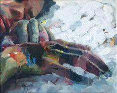 """Saatchi Art Artist David Agenjo; Painting, """"Hands-on III"""" #art"""