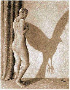 René Magritte, Le principe d'incertitude.