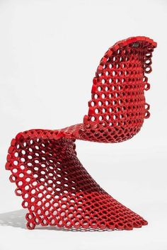 Panton Chair Bolts, 2013, by Leo Capote