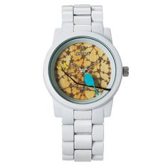 This eco-friendly Sprout watch not only looks great - it's great for the Earth, too!