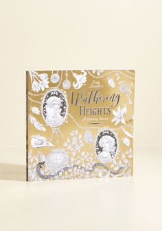 Wuthering Heights: A Coloring Classic   Mod Retro Vintage Books   ModCloth.com  Revisit your favorite piece of literature in an entirely new light with this adult coloring book! You've indulged in the narrative - now explore its beloved romantic quotes and gothic themes by bringing this paperback's brilliant illustrations to life with the hues of your choosing.