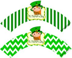 Leprechaun Cupcake wrappers St.Patrick's Day