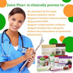 Juice Plus For Life! www.twood.juiceplus.com