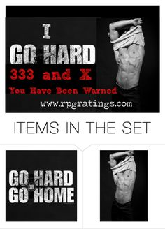 """""""I go hard"""" by chaotic-ballet on Polyvore featuring art"""
