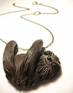 @Abbey Hugs can you please make me a sweet smiley sloth necklace out of sculpy!?!?!?!