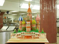 St. Basil's Cathedral (Russia) cake #CakeBoss