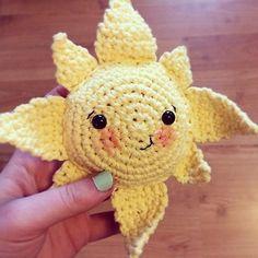 Summer Sun Softie Crochet pattern by Jess from Screen to Stitch   Crochet Patterns   LoveCrochet