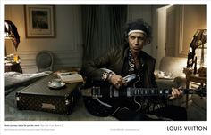 Annie Leibovitz, Keith Richards, Louis Vuitton, 2008