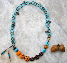 java jivin' necklace  . . . by marthasrubyacorn on Etsy, $78.00