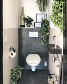 They are all fake but I dont care. They are all fake but I dont care. The post They are all fake but I dont care. appeared first on Badezimmer ideen. Small Toilet Room, Guest Toilet, Small Toilet, Small Bathroom Decor, Wc Design, Toilet Design, Bathroom Decor, Bathroom Inspiration, Small Bathroom Makeover
