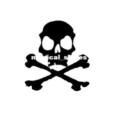Wholesale Wall Decals - Buy Skull Bone Removable Wall Car Sticker Halloween Decor Mural Art Vinyl Wallpaper Home Window Decoration Decal D04...