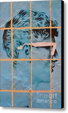 Mr Blue Canvas Print / Canvas Art By Urban Artful