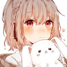 Cute Anime Profile Pictures, Cute Anime Pics, Anime Girl Cute, Cute Anime Couples, Anime Art Girl, Anime Love, Friend Anime, Anime Best Friends, Anime Girl Drawings