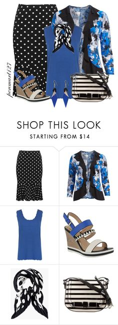 """""""Wedged Into Spring #Plussize"""" by penny-martin on Polyvore featuring Yoek, WearAll, Azura, Chico's, Kate Spade, Toolally and plus size clothing"""