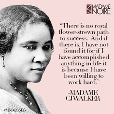 Madam Cj Walker Quotes Fair Mn Bosses #qotd October 30 2014  Gloria Vanderbilt Inspirational . Decorating Design