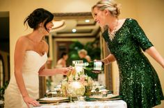 sequined bridesmaid dresses - Google Search