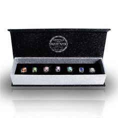 Swarovski® 7 Pairs Of Stud Earrings Made With Crystals (DE0160)