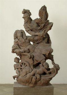 Antonín Braun (?) - Pomník hraběte Šporka v zahradě Jana Ferdinanda z Globenu, Valeč, 1733 Lion Sculpture, Statue, Art, Get Tan, Art Background, Kunst, Performing Arts, Sculptures, Sculpture