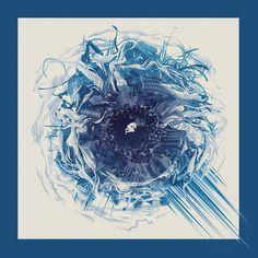 Eye of the Storm by Jason Fields, via Behance Graph Design, Print Design, Eye Of The Storm, Illustrations, Fields, Gap, Behance, Eyes, Digital