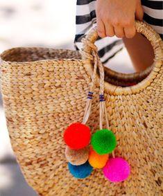 Let's Get Crafty: DIY Pom Pom Bag Charm