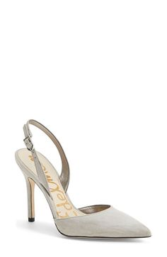 Free shipping and returns on Sam Edelman 'Dora' Pointy Toe Slingback Pump (Women) at Nordstrom.com. Available in a wide array of colors and finishes, this slingback pump is sure to suit your every mood and outfit.