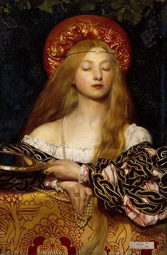 Frank Cadogan Cowper (1877-1958)  Vanity  Oil on canvas  1907  37 x 54 cm  Royal Academy of Arts (London, United Kingdom)