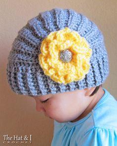 CROCHET PATTERN Très Chic crochet hat pattern with von TheHatandI