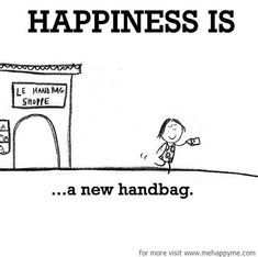 Happiness #546: Happiness is a new handbag.