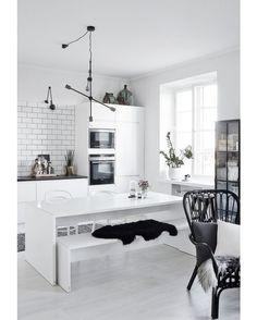 Helsinki Home #helsinki #apartment #kitchen #interior #interiors #interiordesign #design #architecture by homeadore