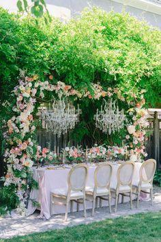 Wedding Table Settings, Wedding Reception Decorations, Crystal Garden, Garden Wedding Inspiration, Toronto Wedding, Whimsical Wedding, Vineyard Wedding, Romantic Weddings, Event Design