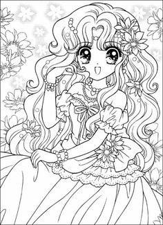 1907 Best Anime coloring pages! images in 2019 | Coloring pages ...