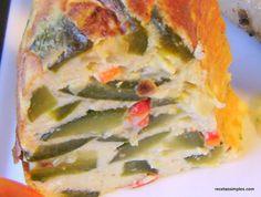 Budin de zapallitos - El zapallito de tronco o zapallito a secas es una variedad de calabacita de unos diez centímetros de diámetro de color verde que se consume mucho en nuestro país(Argentina)