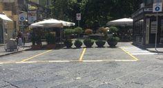 Via Luca Giordano, ancora sbarrato l'accesso da piazza degli ArtistiReport Campania   Report Campania